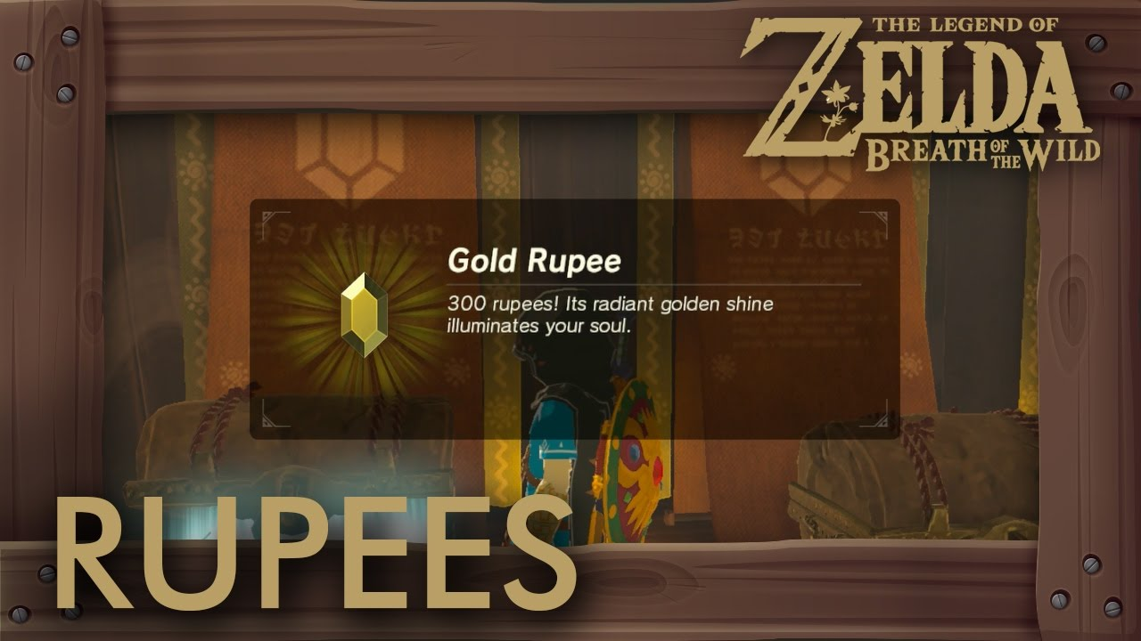 Zelda Breath Of The Wild Rupees