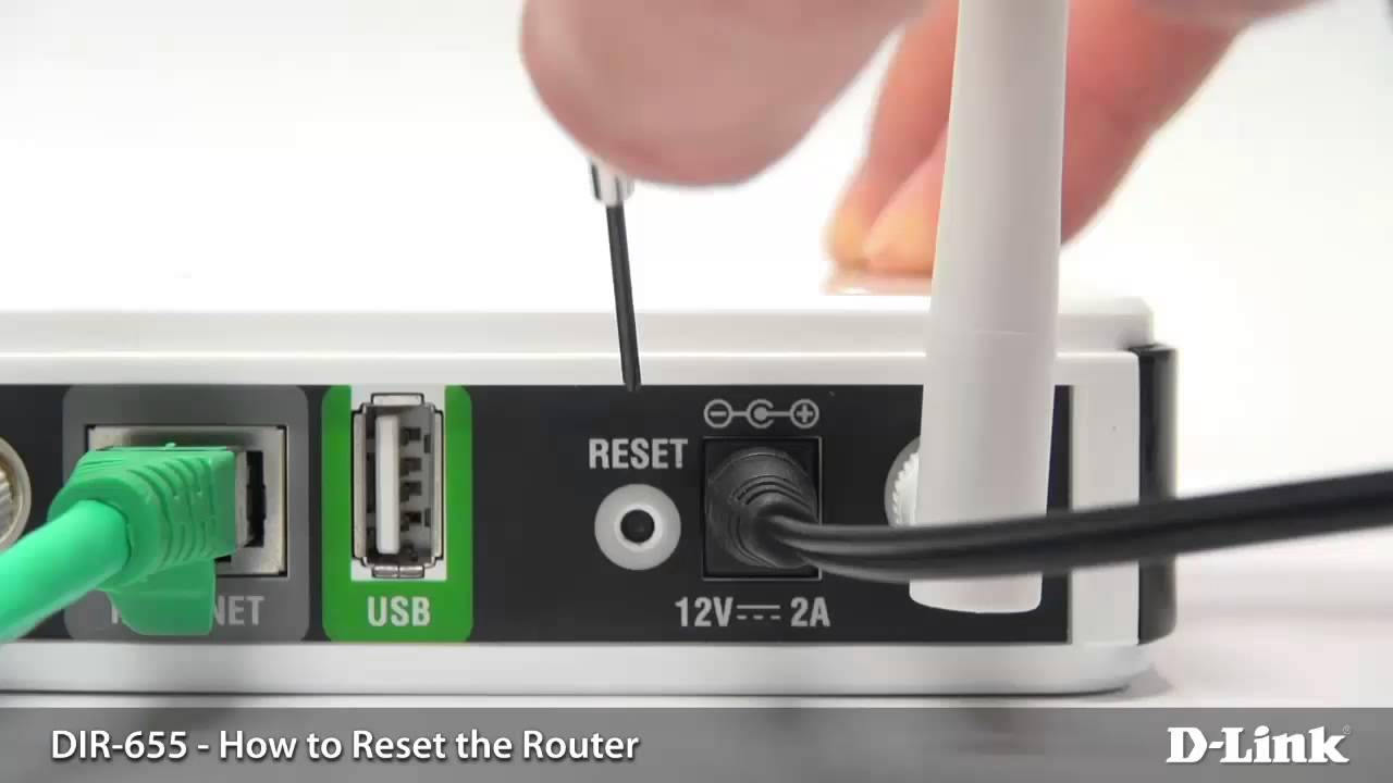 How to reset the router settings 65