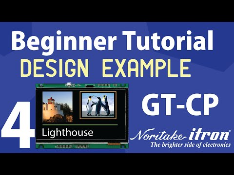 Noritake GT-CP Tutorial | Part 4: Screen Designer Example on GTOP