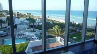Eden Roc suite on Miami Beach
