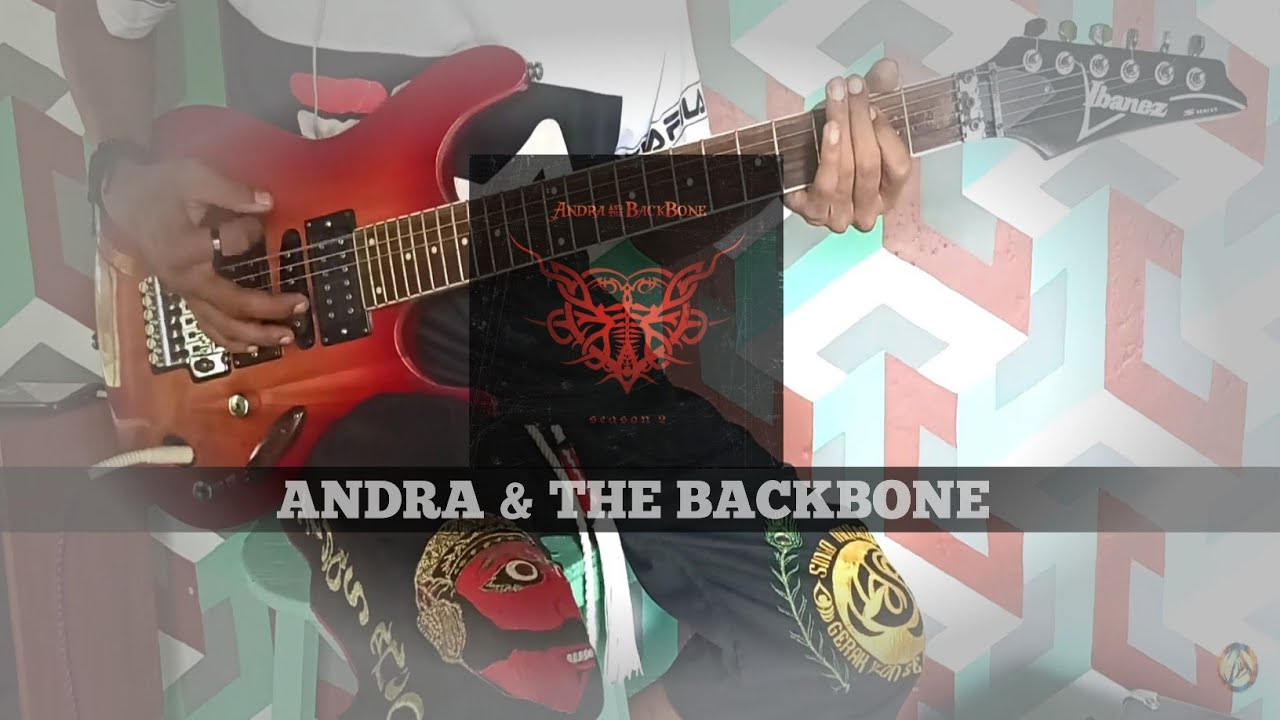 ANDRA & THE BACKBONE - ALIBI GUITAR COVER