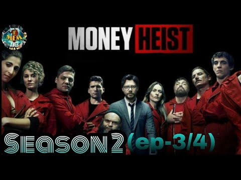 """Download """"Money heist"""" Season-2 (ep-3/4) #movie_explanation_manipur #crime_drama_thriller"""