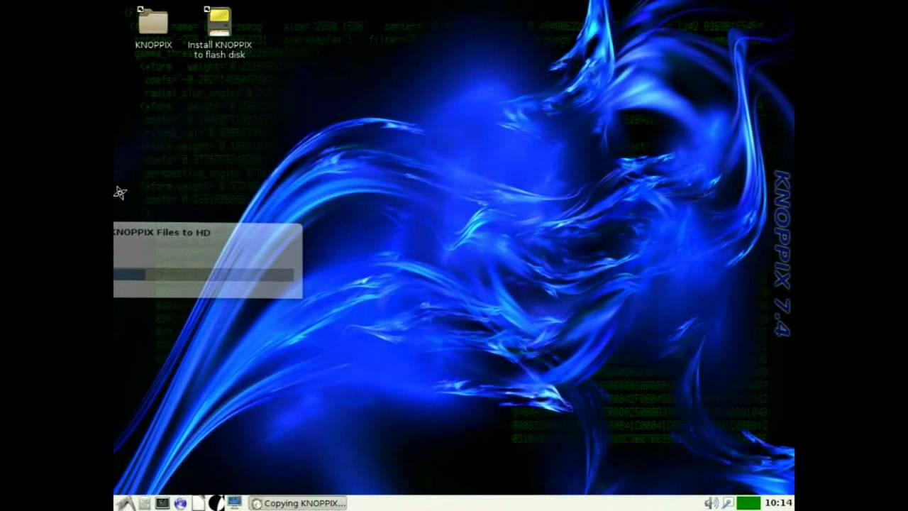 knoppix windows 7