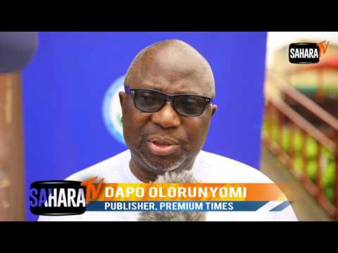 #WorldPressFreedomDay: Premium Times Publisher, Dapo Olorunyomi Speaks On Press Freedom in Nigeria