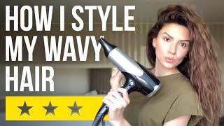 видео Как быстро уложить волосы?