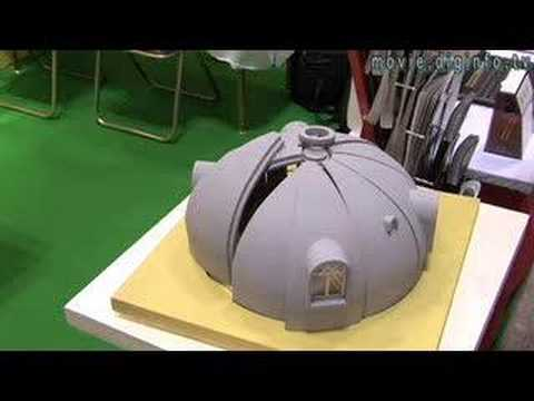 Styrofoam Dome environmentally friendly dome housing : diginfo - youtube