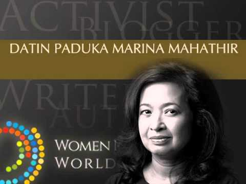 An Interview with Marina Mahathir - WIBWS 2014
