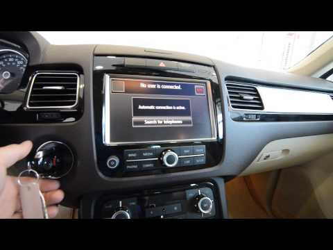 2013 Volkswagen Touareg VR6 Sport NAV DEMO (stk# 3218 ) for sale at Trend Motors VW in Rockaway, NJ