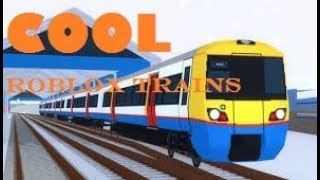 Best train game in ROBLOX?