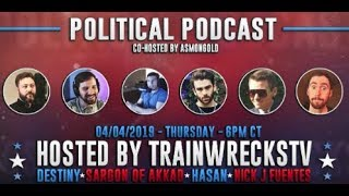 Download SARGON OF AKKAD, TYT's HASAN PIKER, DESTINY, NICK F, & co-host ASMONGOLD - POLITICAL PODCAST Mp3 and Videos