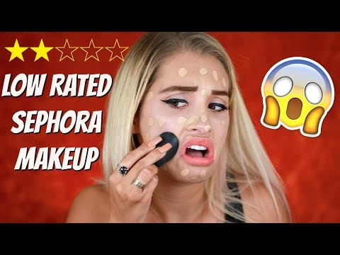 Thumbnail: TESTING LOW RATED SEPHORA PRODUCTS