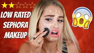 TESTING LOW RATED SEPHORA PRODUCTS thumbnail
