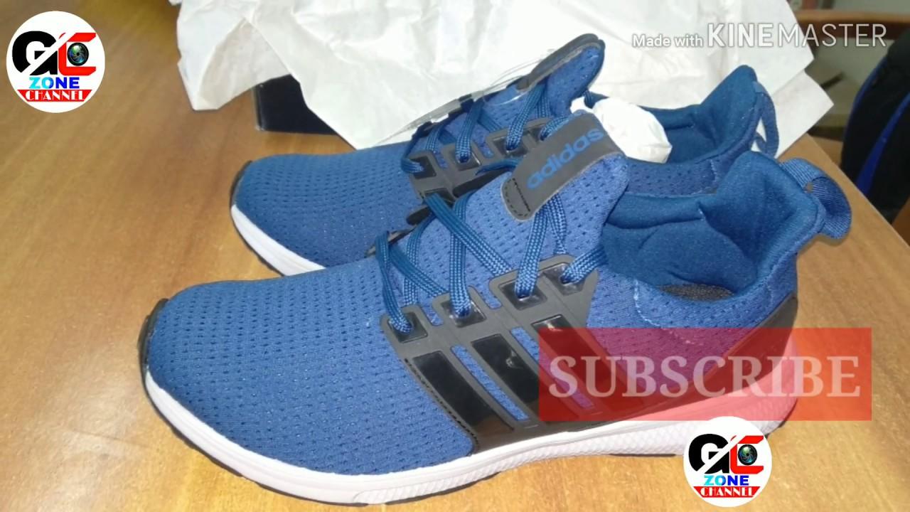 Adidas Jerzo M sport shoes unboxing