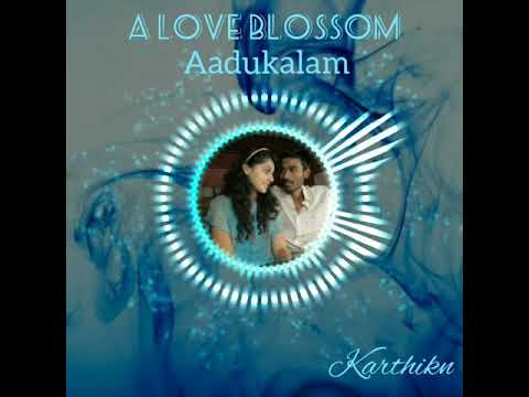 Aadukalam- A love blossom//Tamil love bgm what's app statues