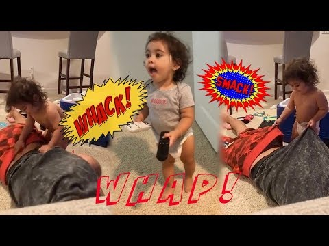 ELLE SPANKING AUSTIN McBROOM **MUST WATCH** - THE ACE FAMILY