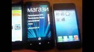 Сравнение Трех телефонов за 8 тысяч рублей(NOKIA,SAMSUNG,Apple)