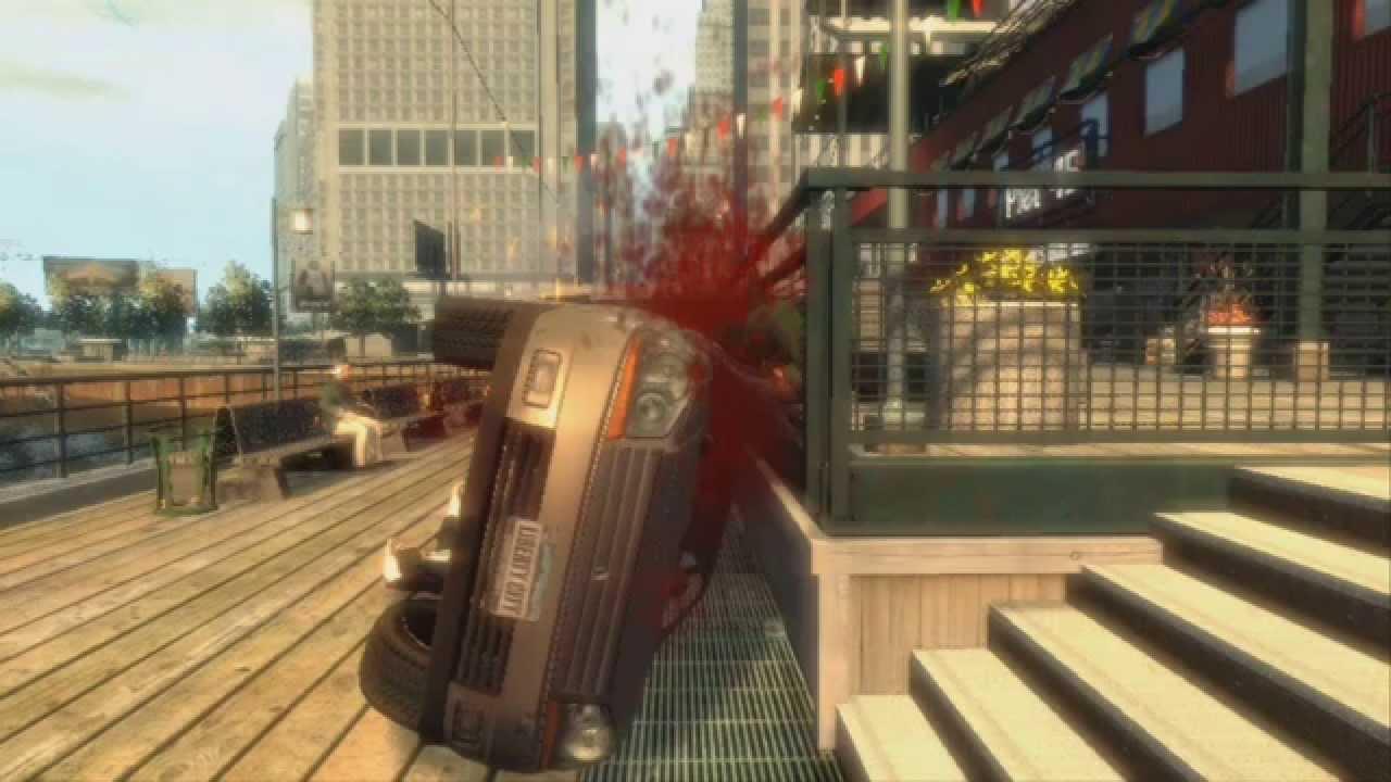 GTA 4 - Gore Violence