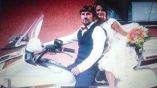 Серебряная свадьба! 25 лет вместе. Свадьба на мотоцикле