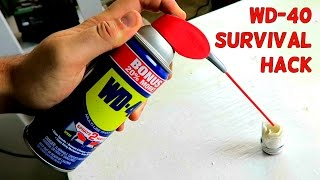 WD-40 Survival Hack