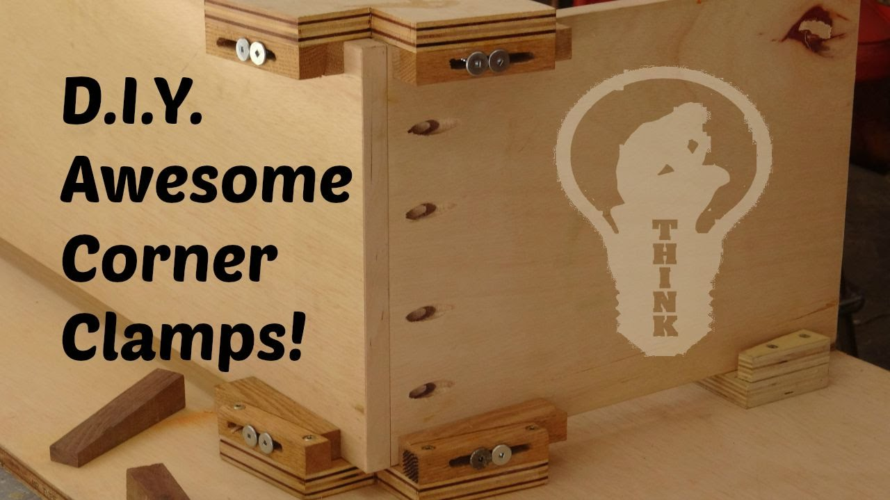 how to make wooden corner clamps