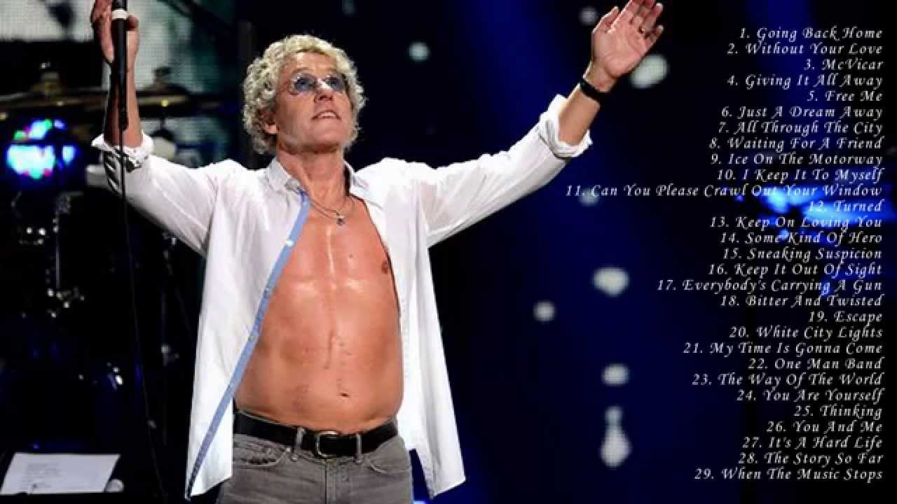 roger daltrey under a raging moon