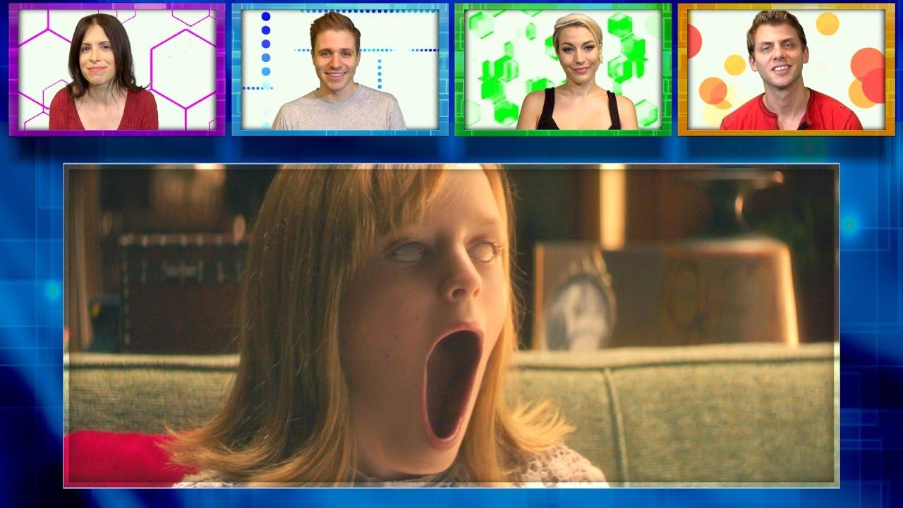 CREEPY LITTLE GIRL ALERT! Ouija: Origin Of Evil Trailer Review -  BUZZWORTHY? #8