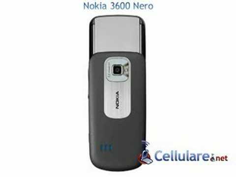 Nokia 3600 Slide nero