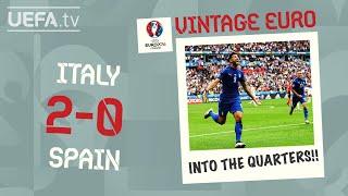 ITALY 2-0 SPAIN, EURO 2016