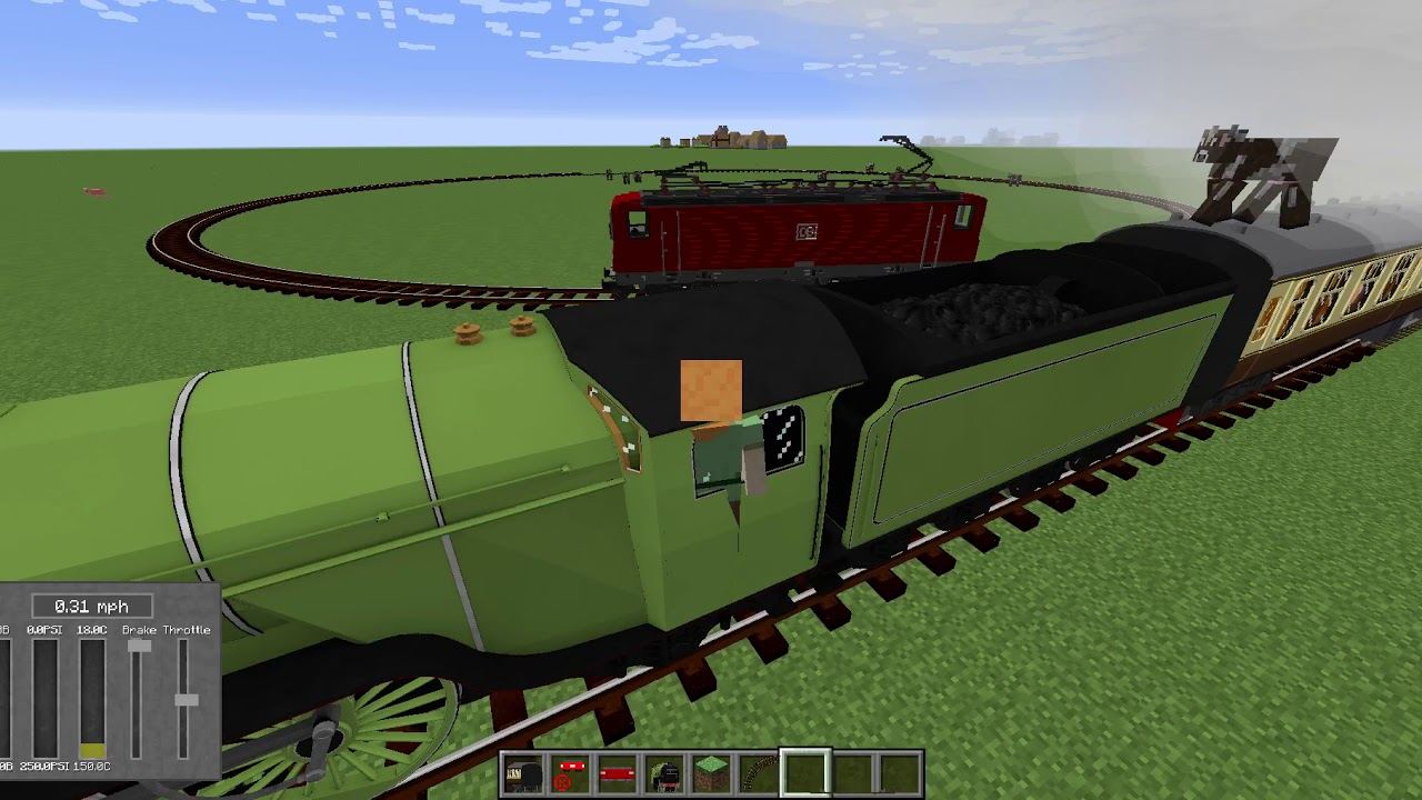 Track API Demo with Immersive Railroading + Trains Mod