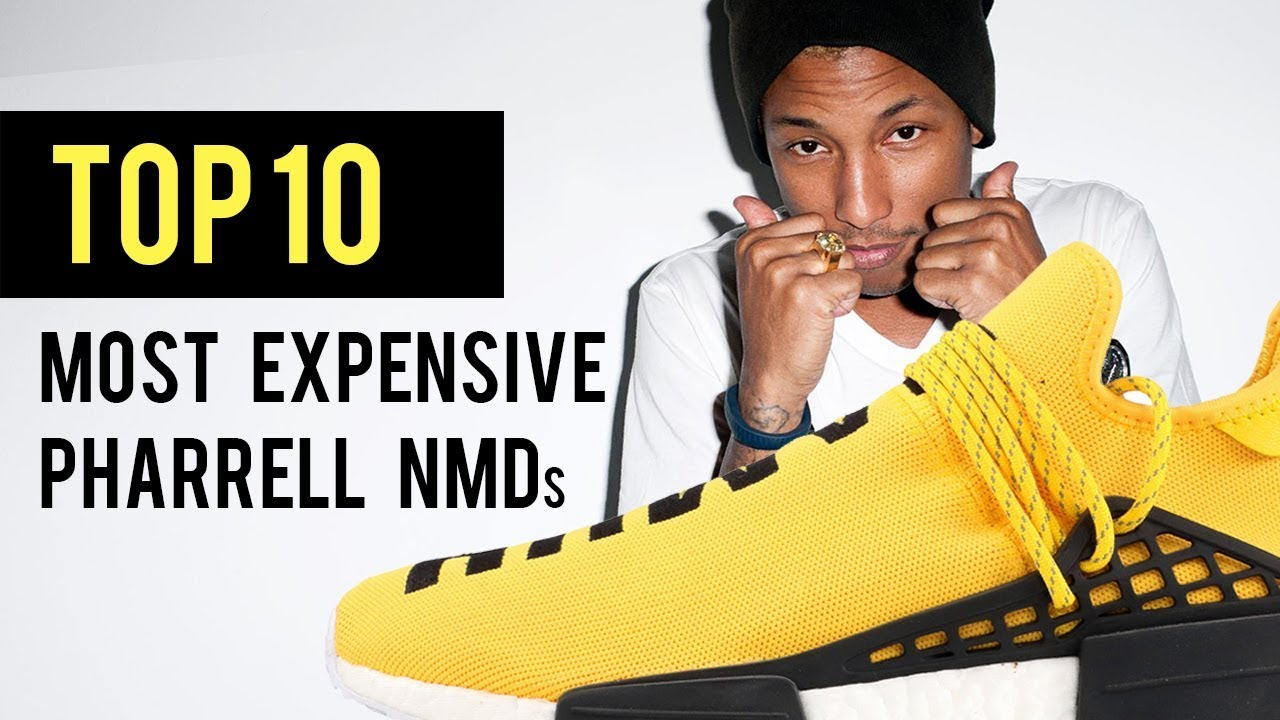 low priced 25af1 c881b TOP-10 MOST EXPENSIVE ADIDAS NMD's by PHARRELL!