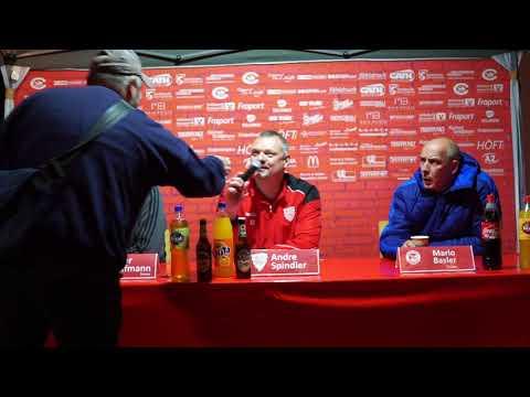 Pressekonferenz zum Spiel Spvgg.03 Neu-Isenburg - SG Rotweiss Frankfurt 2:3