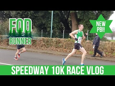 Speedway 10k Race Vlog - NEW PB!! | FOD Runner - YouTube