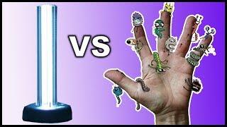Устранение бактерий ультрафиолетом и озоном