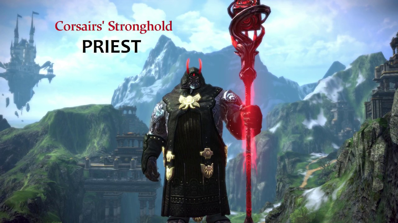 TERA Corsairs' Stronghold - PRIEST PvP