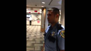 """Man escorted from HCAD building by HPD for using the word """"Hell"""" to one of the HCAD employees."""