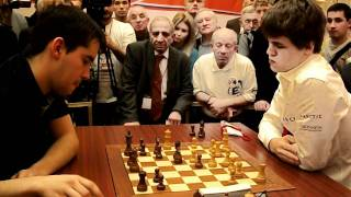 Magnus Carlsen -   Ian  Nepomniachtchi blitz Wch