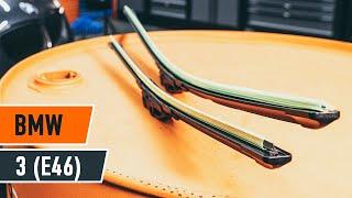 Cómo cambiar Limpiaparabrisas BMW 3 (E46) - vídeo gratis en línea