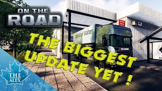 On The Road 6.7.14   - The biggest update yet ! - TrackIR + G27 -Truck Simulator