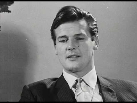 Roger Moore interview 1963