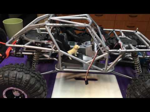 How to fix Axial roll cage with JB weld