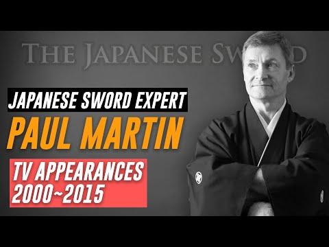 Paul Martin of The Japanese Sword TV Appearances 2000~2015