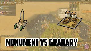 Monument Vs Granary in Civ 6 - Which should you build first?