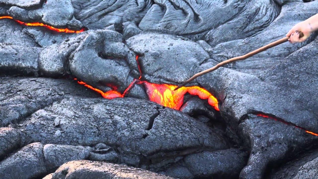vulkan på island