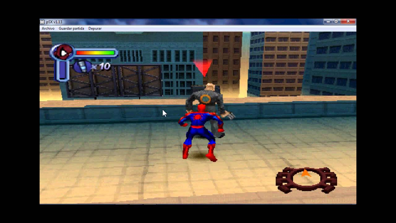 descargar spiderman de psx para pc  YouTube