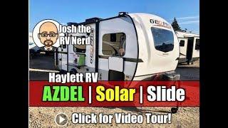 NEW MODEL! 2019 Rockwood 19QB Geo Pro AZDEL Solar Equipped Carpetless Ultralite Mini Travel Trailer