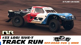 Some action with Losi 5ive T #33 Crew Car