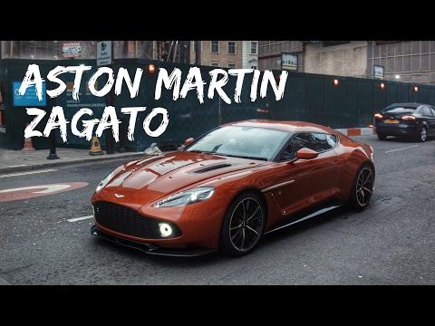 Limited Edition Aston Martin Vanquish Zagato V12