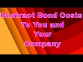 What is the cost of a contract bond | surety contract bonds