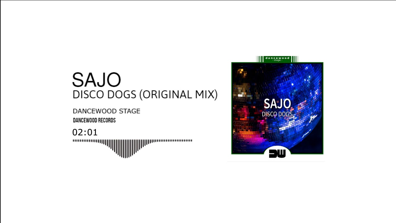 Слушнете го новиот електронски хит на Sajo - Disco Dogs