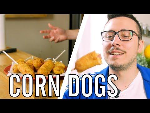 Corn dogs : Ricetta Americana - IO FRIGGO TUTTO - Valerio | Cucina da Uomini